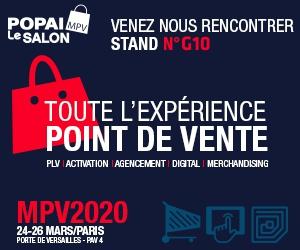 Volvemos al salón POPAI MVP Paris 2020!
